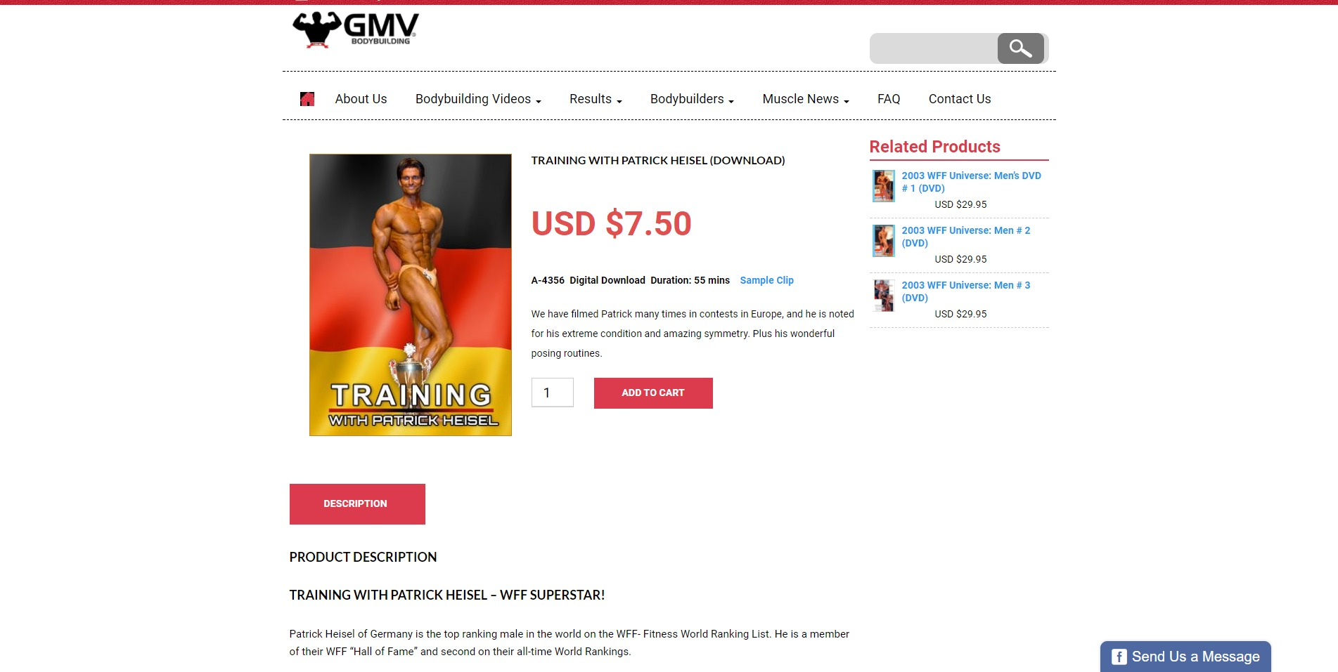 Training with Patrick Heisel Download GMV Bodybuilding